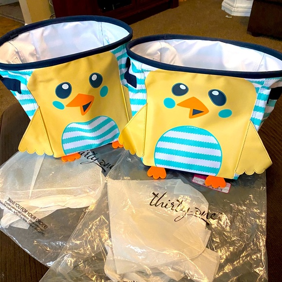 2 brand new baby chick mini bins!